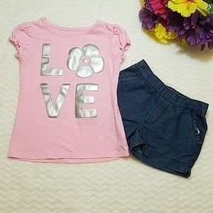okie dokie Matching Sets - size 5 girls outfit